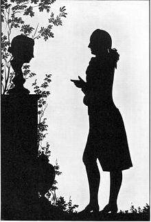 Goethe- Paper Cut- 1780