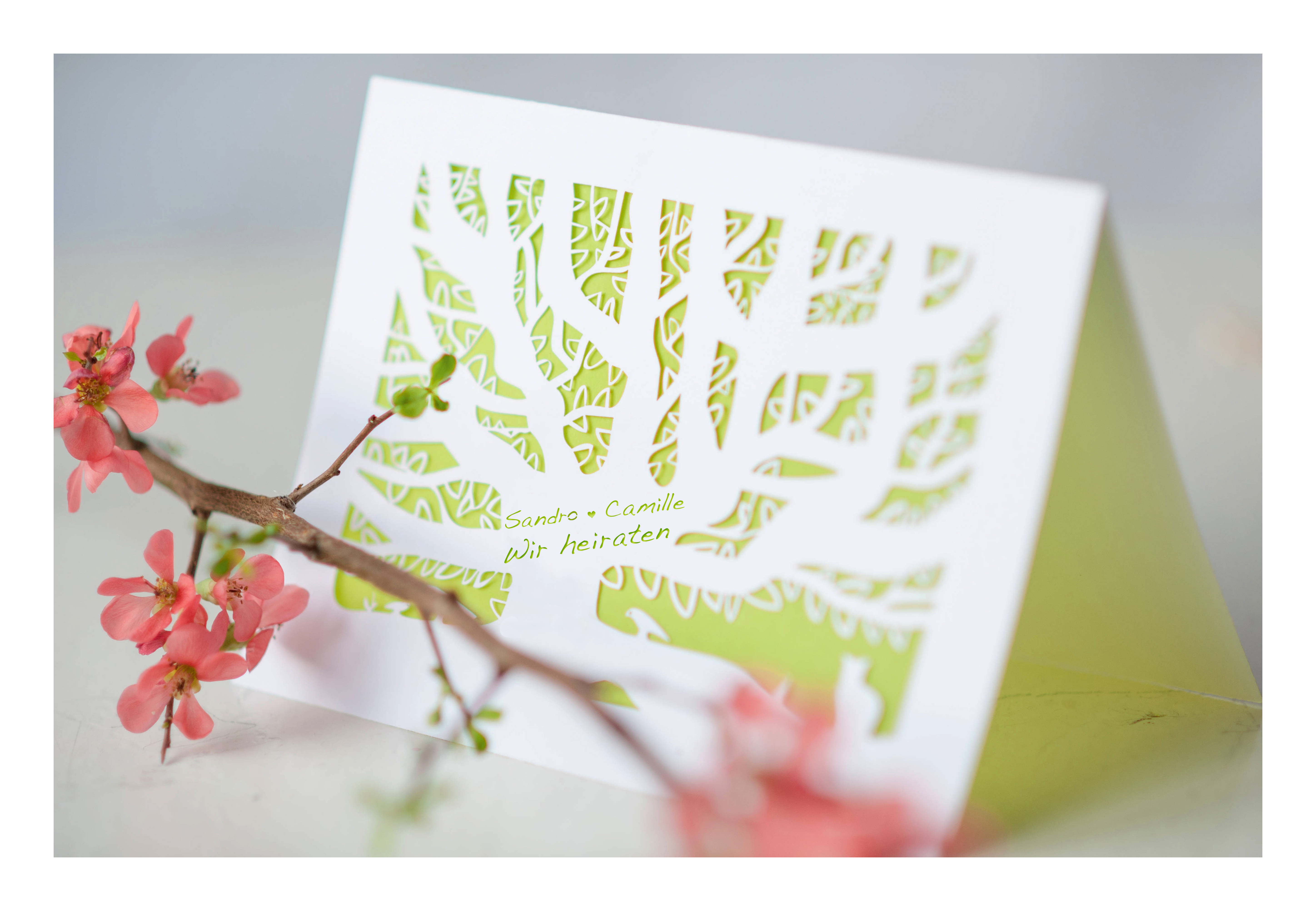 Coupure baby art tree of life wedding card coupure baby art tree of life wedding card kristyandbryce Gallery