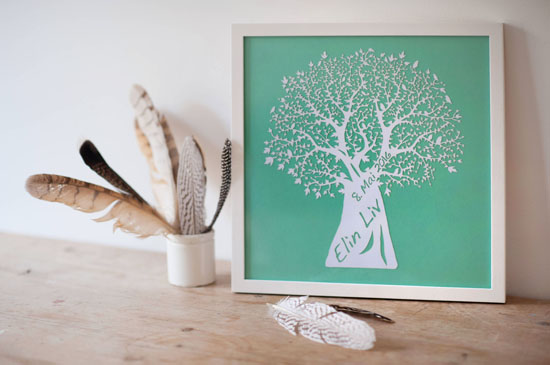 Small wall art - Tree