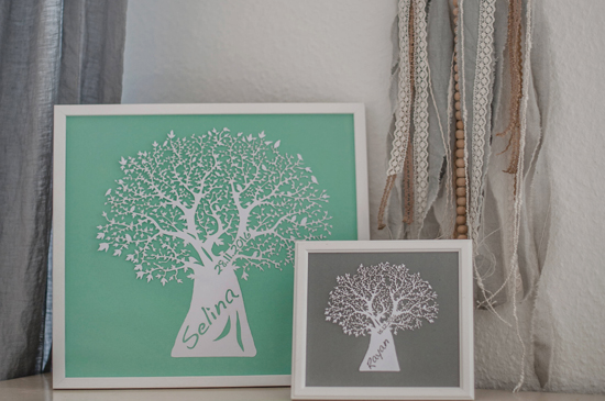 Small wall art - Tree 2
